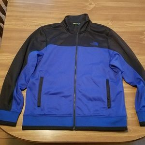 Men's North Face fleece lined jacket